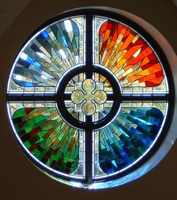 Ruth Ratcliff Memorial Window in St. Lukes Lutheran Church Park Ridge IL