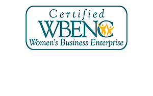 Certified Womens Business Enterprise Logo | Solstice Stained Glass Chicago IL