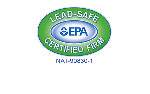 Lead Safe Certified Firm Logo | Solstice Stained Glass Chicago IL